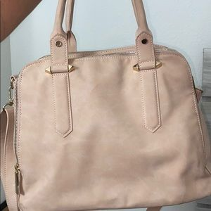 Marbled Nude Pink Purse